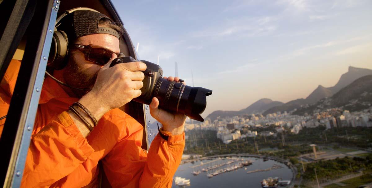 Rio de Janeiro Helikopter Flug Aufnahmen - 03