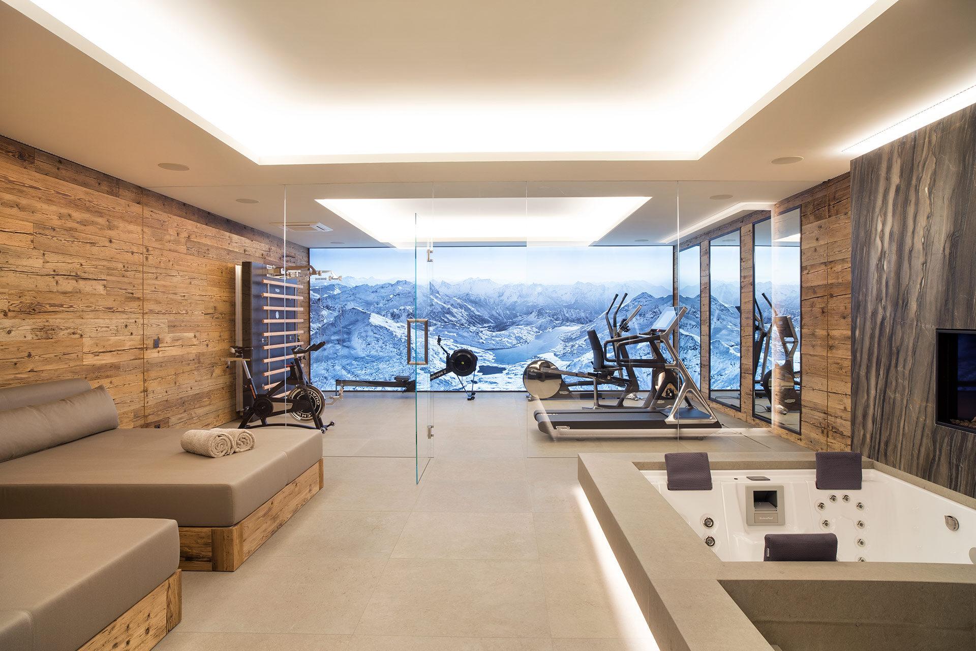 Privatvilla St. Moritz